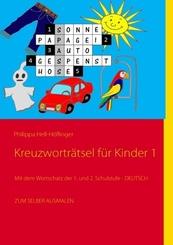 Kreuzworträtsel für Kinder - Nr.1