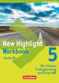 New Highlight, Hauptschule Baden-Württemberg: 9. Schuljahr, Workbook m. Audio-CD; Bd.5