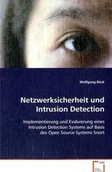 Netzwerksicherheit und Intrusion Detection (eBook, 15x22x0,5)