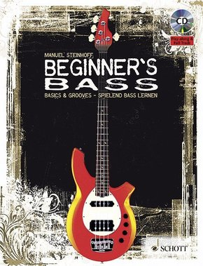 Beginner's Bass, m. Audio-CD