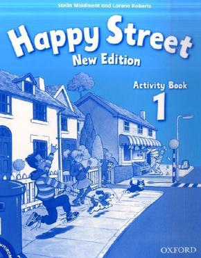 Happy Street, New Edition: Activity Book, w. Multi-ROM; Pt.1