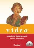 video, Lateinische Kurzgrammatik: Lateinische Kurzgrammatik mit Tests und Lösungen, m. CD-ROM