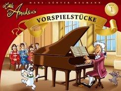 Little Amadeus, Vorspielstücke - Bd.1