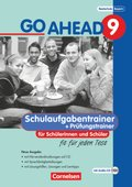 Go Ahead (sechsstufig): 9. Jahrgangsstufe, Schulaufgabentrainer, m. 2 Audio-CDs (Neue Ausgabe); Bd.9