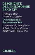 Geschichte der Philosophie: Die Philosophie der neuesten Zeit; 14