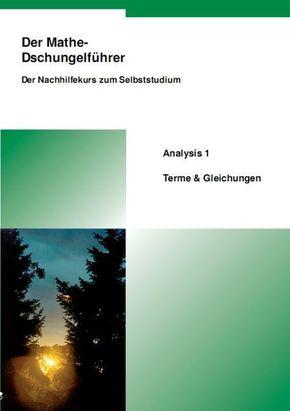 Der Mathe-Dschungelführer: Analysis 1, Terme & Gleichungen