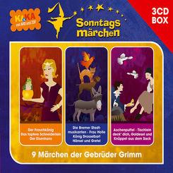 Ki.Ka Sonntagsmärchen, Audio-CDs: Grimm, Jacob;Grimm, Wilhelm