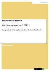 Öko-Auditierung nach EMAS