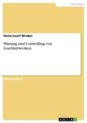 Planung und Controlling von Loseblattwerken