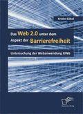Das Web 2.0 unter dem Aspekt der Barrierefreiheit