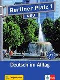 Berliner Platz NEU: Lehr- und Arbeitsbuch, m. 2 Audio-CDs zum Arbeitsbuchteil u. Treffpunkt D-A-CH; Bd.1