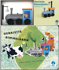Henriette Bimmelbahn, m. Holzlokomotive