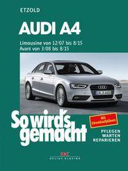 Audi A4, Limousine 12/07-8/15, Avant 3/08-8/15; .