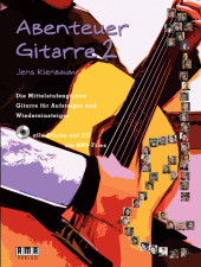 Abenteuer Gitarre, m. Audio-CD - Bd.2