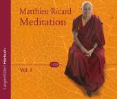 Meditation, 1 Audio-CD - Vol.1