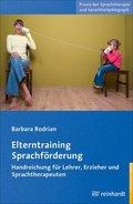 Elterntraining Sprachförderung, m. CD-ROM