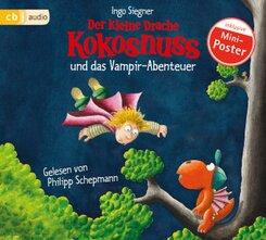 Der kleine Drache Kokosnuss und das Vampir-Abenteuer, 1 Audio-CD