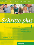 Schritte plus - Deutsch als Fremdsprache: Kursbuch + Arbeitsbuch; Bd.1
