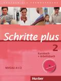 Schritte plus - Deutsch als Fremdsprache: Kursbuch + Arbeitsbuch, m. Audio-CD zum Arbeitsbuch; Bd.2