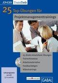 25 Top-Übungen für Projektmanagementtrainings, CD-ROM