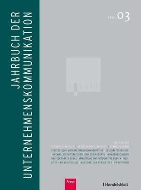 Jahrbuch der Unternehmenskommunikation 2009 - Bd.3