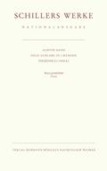 Schillers Werke, Nationalausgabe: Wallenstein; 8/1-2 - Tl.1-2