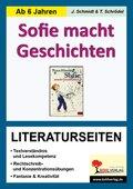 Peter Härtling 'Sofie macht Geschichten', Literaturseiten
