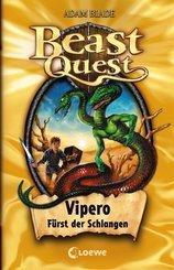 Beast Quest - Vipero, Fürst der Schlangen