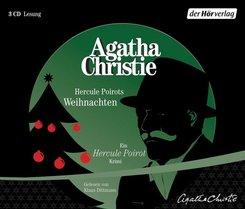 Hercule Poirots Weihnachten, 3 Audio-CDs