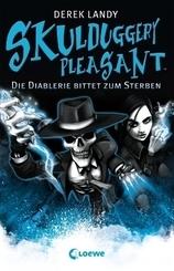 Skulduggery Pleasant - Die Diablerie bittet zum Sterben