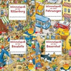 Pixi Bücher: Maxi-Pixi Serie 2, Wimmelbilder (20 Expl. (4 Titel))