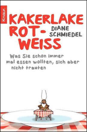 Kakerlake Rot-Weiss