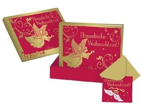 Himmlische Weihnachtszeit!, Buch in Deko