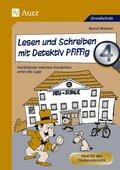 Lesen und Schreiben mit Detektiv Pfiffig 4