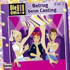 Die drei Ausrufezeichen - Betrug beim Casting, 1 Audio-CD