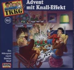 TKKG - Advent mit Knall-Effekt, 1 Audio-CD