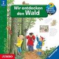 Wir entdecken den Wald, Audio-CD - Wieso? Weshalb? Warum?