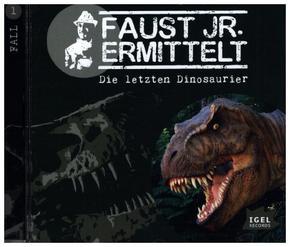 Faust jr. ermittelt - Die letzten Dinosaurier, Audio-CD