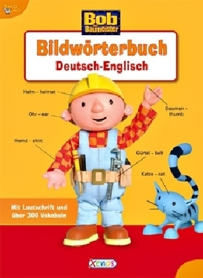 Bob der Baumeister, Bildwörterbuch Deutsch - Englisch