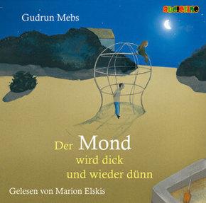Der Mond wird dick und wieder dünn, 1 Audio-CD
