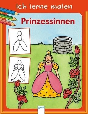 Ich lerne malen - Prinzessinnen