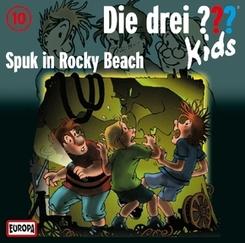 Die drei ???-Kids - Spuk in Rocky Beach, Audio-CD