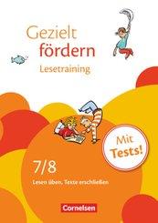 Gezielt fördern - Lern- und Übungshefte Deutsch - 7./8. Schuljahr