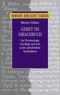 Gebet im Sirachbuch