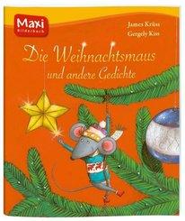 Die Weihnachtsmaus und andere Gedichte - Maxi Bilderbuch