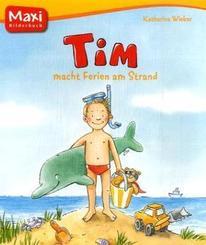 Tim macht Ferien am Strand - Maxi Bilderbuch