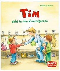 Tim geht in den Kindergarten - Maxi Bilderbuch