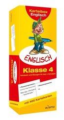 Karteibox Englisch, Klasse 4