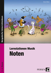 Lernstationen Musik, Noten