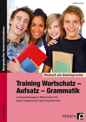 Training Wortschatz - Aufsatz - Grammatik